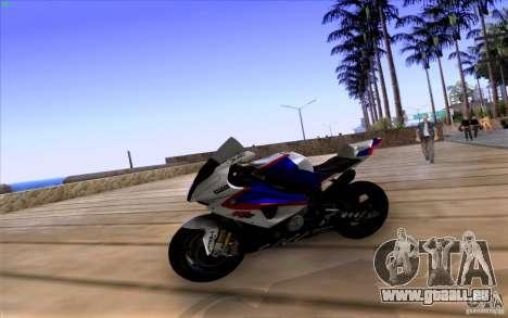 BMW S1000 RR für GTA San Andreas rechten Ansicht