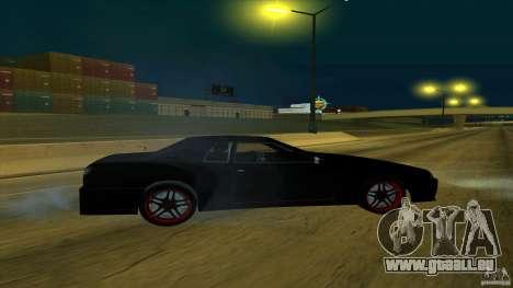 New elegy v1.0 pour GTA San Andreas sur la vue arrière gauche