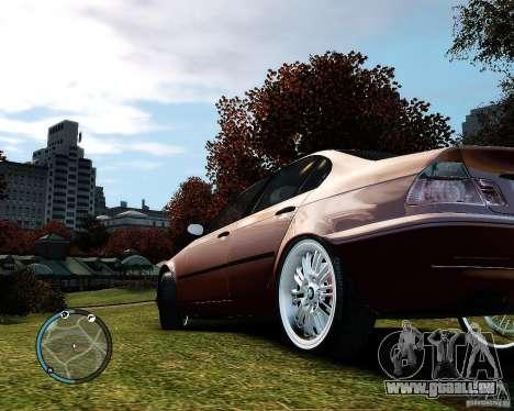 BMW 320i E46 v1.0 pour GTA 4 Vue arrière