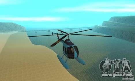 Nouveau Seaspar pour GTA San Andreas vue intérieure