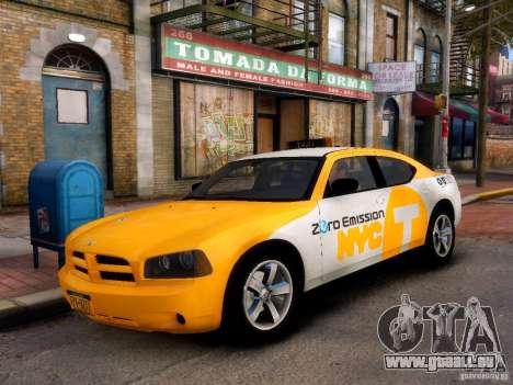 Dodge Charger NYC Taxi V.1.8 für GTA 4 linke Ansicht