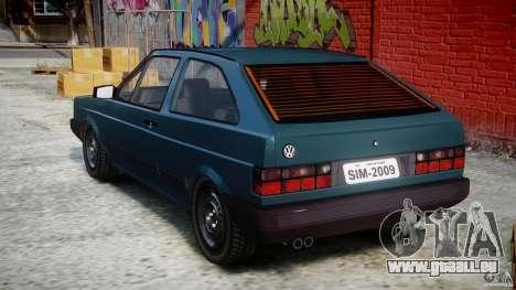 Volkswagen Gol GL pour GTA 4 Vue arrière de la gauche