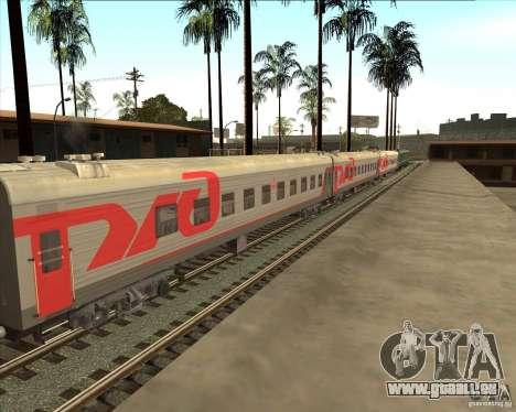 Voiture de tourisme RZD pour GTA San Andreas