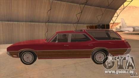 Oldsmobile Vista Cruiser 1972 pour GTA San Andreas laissé vue