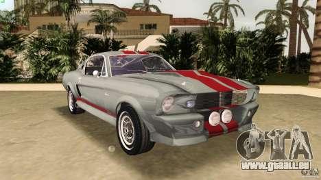 Ford Shelby GT500 für GTA Vice City
