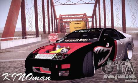 Nissan 300ZX Z32 pour GTA San Andreas vue arrière