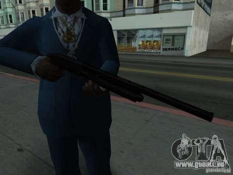 Remington 870 Action Express pour GTA San Andreas troisième écran