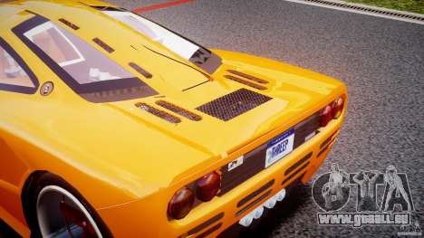 Mc Laren F1 LM v1.0 pour GTA 4 est une vue de l'intérieur