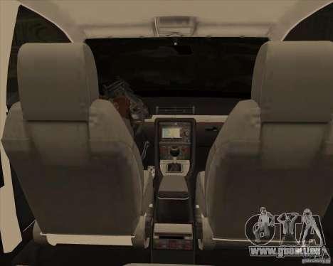 AUDI S4 Sport pour GTA San Andreas vue de dessus