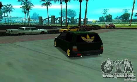 VAZ 1111 Oka für GTA San Andreas zurück linke Ansicht