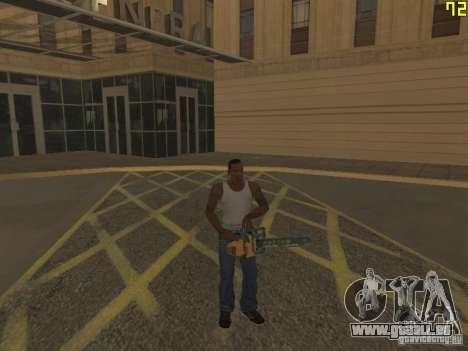 Régénération des bras en meurtre pour GTA San Andreas