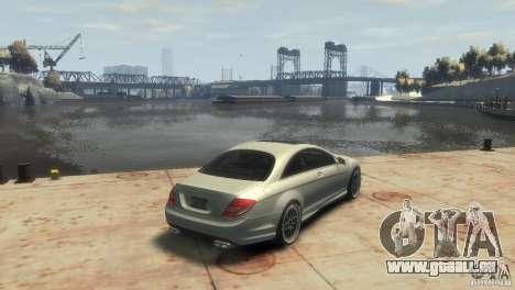 Mercedes-Benz CL 65 AMG 2010 pour GTA 4 est un droit
