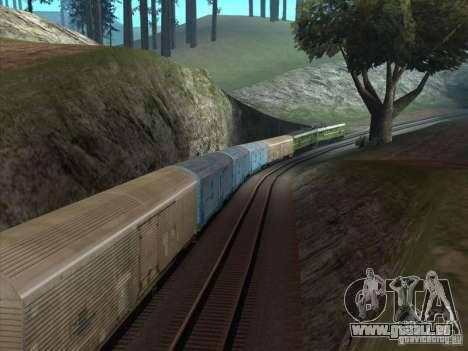 2te10u-0238 pour GTA San Andreas vue arrière