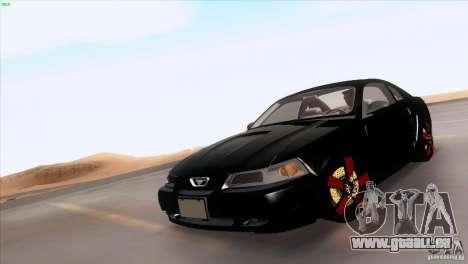Ford Mustang GT 1999 für GTA San Andreas Räder