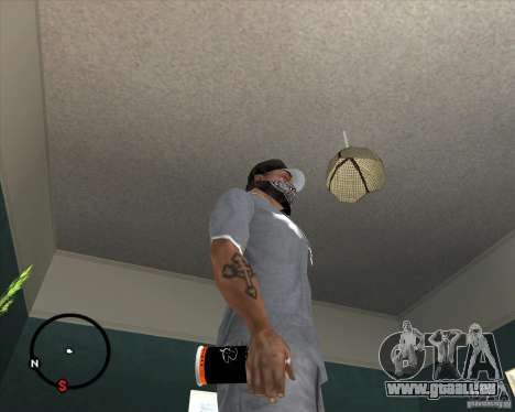 Bombe aérosol Montana pour GTA San Andreas deuxième écran