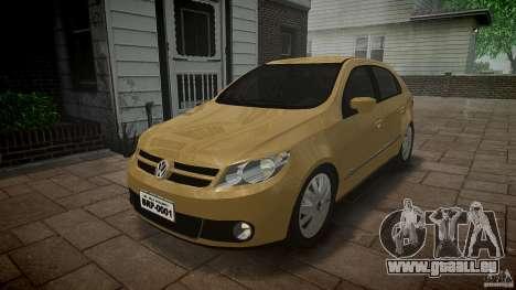 Volkswagen Gol 1.6 Power 2009 für GTA 4 Rückansicht