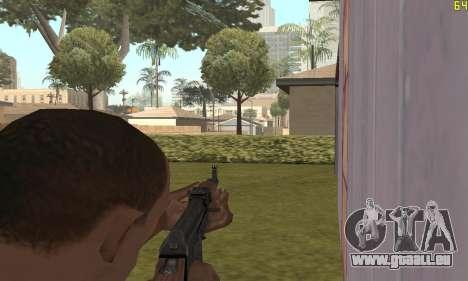 Kalashnikov modernisiert für GTA San Andreas her Screenshot