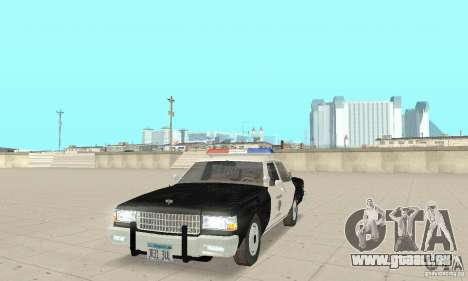Chevrolet Caprice Interceptor 1986 Police pour GTA San Andreas