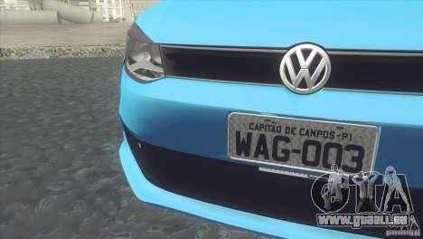 Volkswagen Voyage G6 2013 für GTA San Andreas zurück linke Ansicht