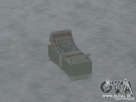 Argent neuf pour GTA San Andreas