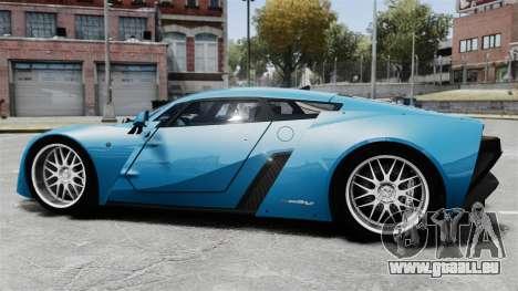 Marussia B2 für GTA 4 linke Ansicht