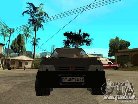 Kia Pride pour GTA San Andreas vue de droite