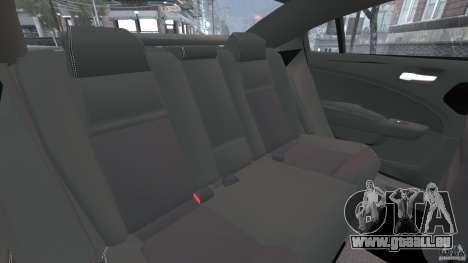 Dodge Charger Unmarked Police 2012 [ELS] pour GTA 4 est un côté