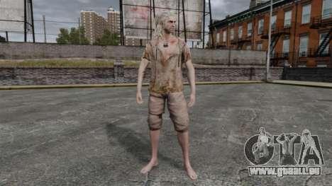 Geralt de Rivia v6 pour GTA 4