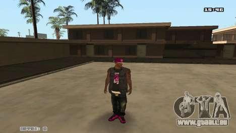 Ballas Skin Pack für GTA San Andreas