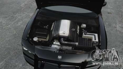 Dodge Charger RT Hemi FBI 2007 für GTA 4 rechte Ansicht