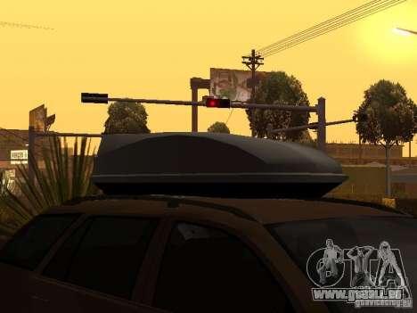 Skoda Octavia pour GTA San Andreas vue de dessous