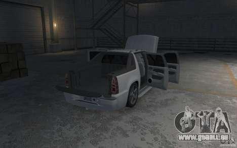 Chevrolet Avalanche v1.0 für GTA 4 Unteransicht