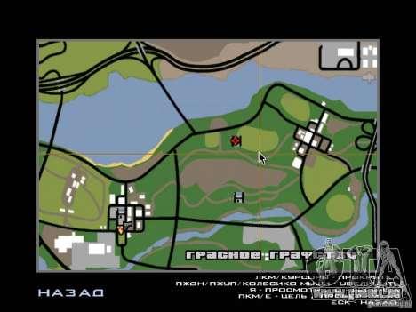 Villa neuve pour CJ pour GTA San Andreas douzième écran