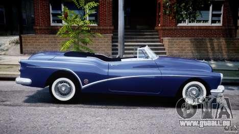 Buick Skylark Convertible 1953 v1.0 pour GTA 4 vue de dessus