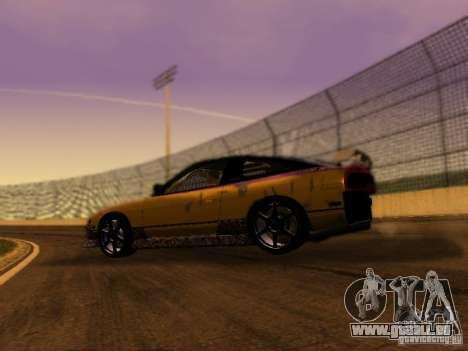 Nissan 240sx Street Drift für GTA San Andreas linke Ansicht