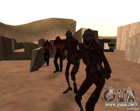 Zombie Half life 2 pour GTA San Andreas cinquième écran