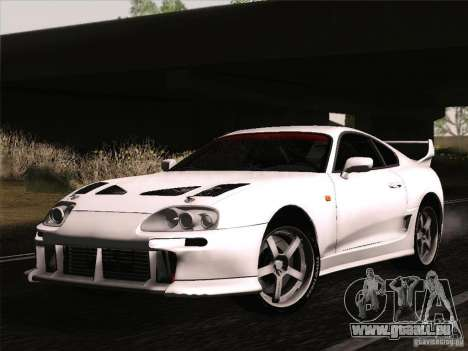 Toyota Supra TRD3000GT v2 für GTA San Andreas Innenansicht