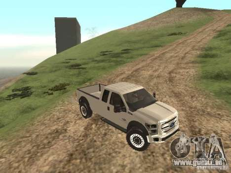 Ford Super Duty F-550 für GTA San Andreas linke Ansicht