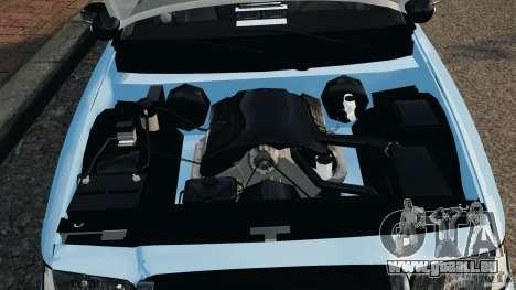 Ford Crown Victoria Police Unit [ELS] für GTA 4 Rückansicht