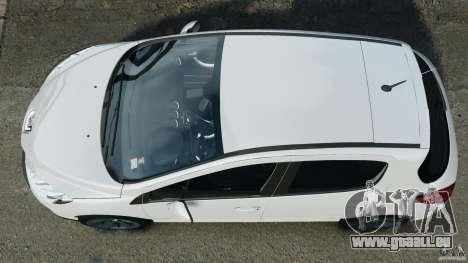 Peugeot 308 GTi 2011 v1.1 pour GTA 4 est un droit