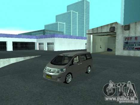 Toyota Alphard G Premium Taxi indonesia für GTA San Andreas