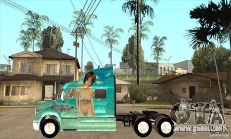 Peterbilt 387 Haut 4 für GTA San Andreas linke Ansicht