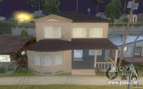Vier neue Häuser an der Grove Street für GTA San Andreas