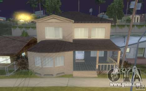 Quatre maisons neuves Grove Street pour GTA San Andreas