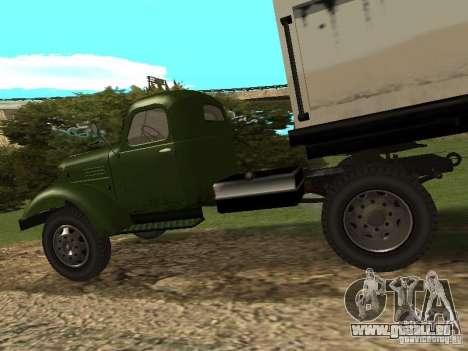 ZIL 164P für GTA San Andreas rechten Ansicht
