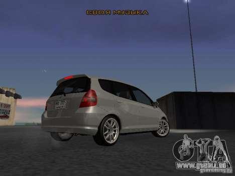 Honda Fit für GTA San Andreas rechten Ansicht