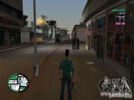 HUD de GTA IV 2.2 RC1 pour GTA Vice City