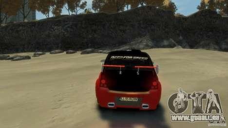 RENAULT LOGAN SPORT pour GTA 4 Vue arrière de la gauche