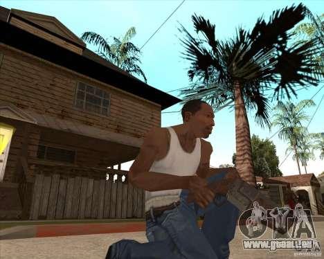 CoD:MW2 weapon pack pour GTA San Andreas huitième écran