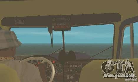 Peterbilt 359 1978 pour GTA San Andreas vue de droite